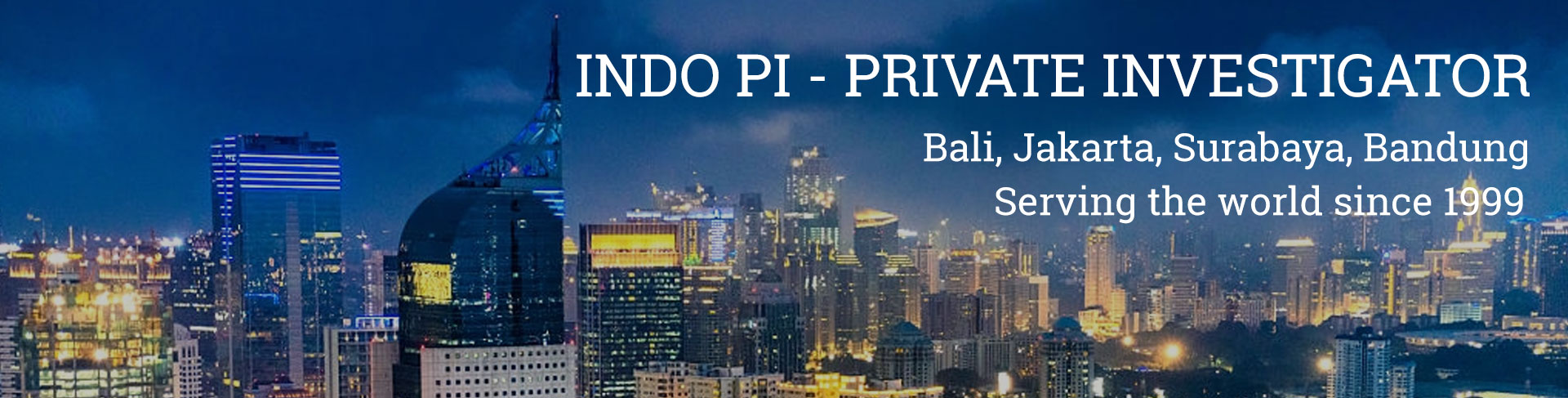 Indonesian Private Investigators